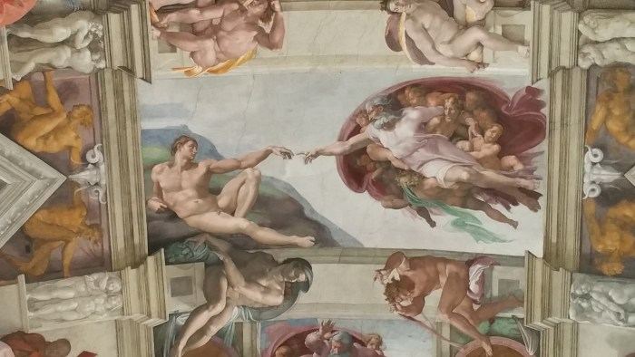 The Sistine Chapel is prominently featured in Dan Brown's Angels & Demons