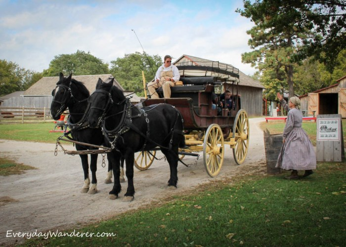 Take a Ride on the Santa Fe Trail at the Mahaffie Stagecoach Stop in Olathe, Kansas
