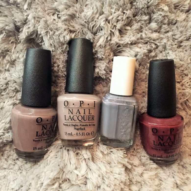 Favorite Fall Nail Colors   CaitlinCosmetologist
