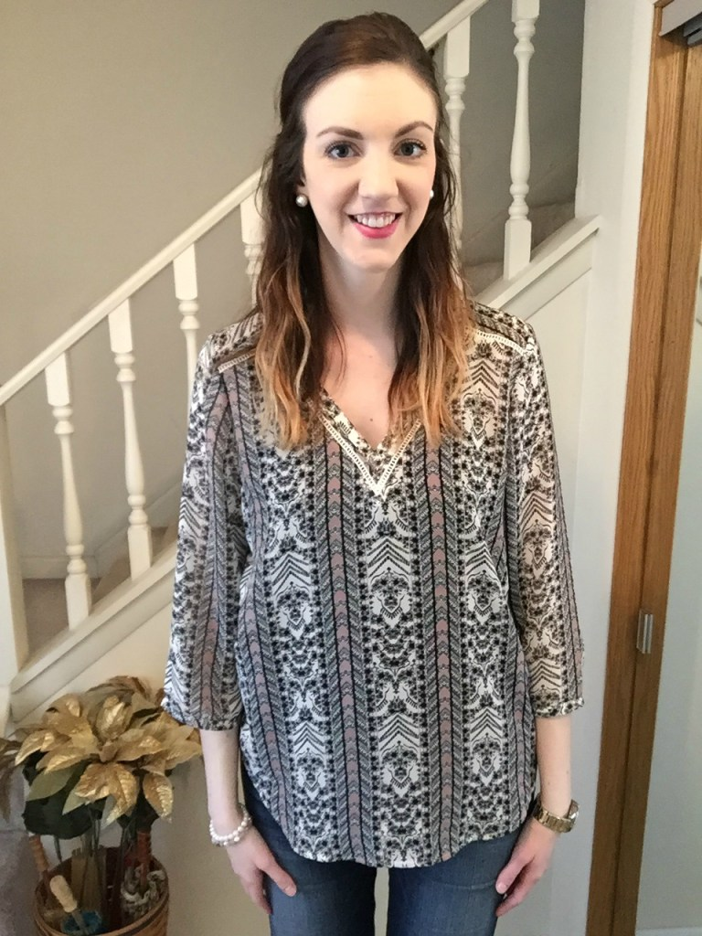 The Perfect Blouse- Spring Wear | CaitlinCosmetologist