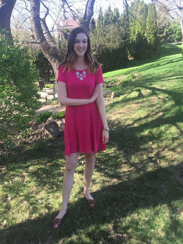 Old Navy Swing Dress- My Favorite Dress   CaitlinCosmetologist