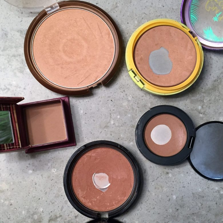 Bronzer Collection   Caitlin Cosmetologist