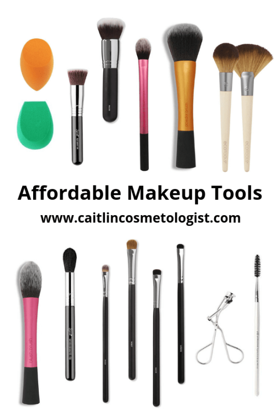 Makeup Tools | Affordable | For Beginners | Must Have | Products | Brushes |