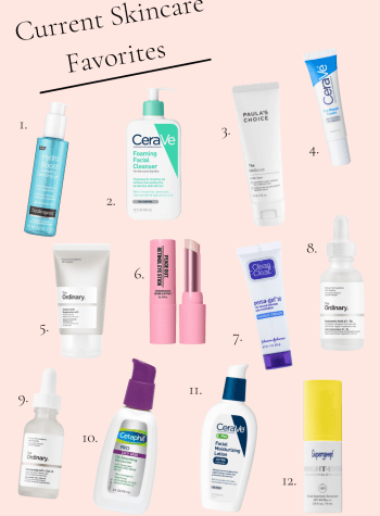 Current Skincare Favorites | Everyday with CEA | I feel like I have a good routine down that I've brought with me into 2021, so I wanted to share my current skincare favorites with you!