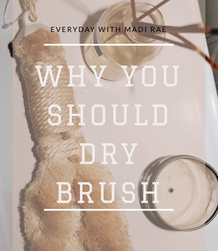 Start dry brushing today to help stimulate lymphatic drainage & detoxification throughout the entire body. Also sharing the correct dry brushing technique!!