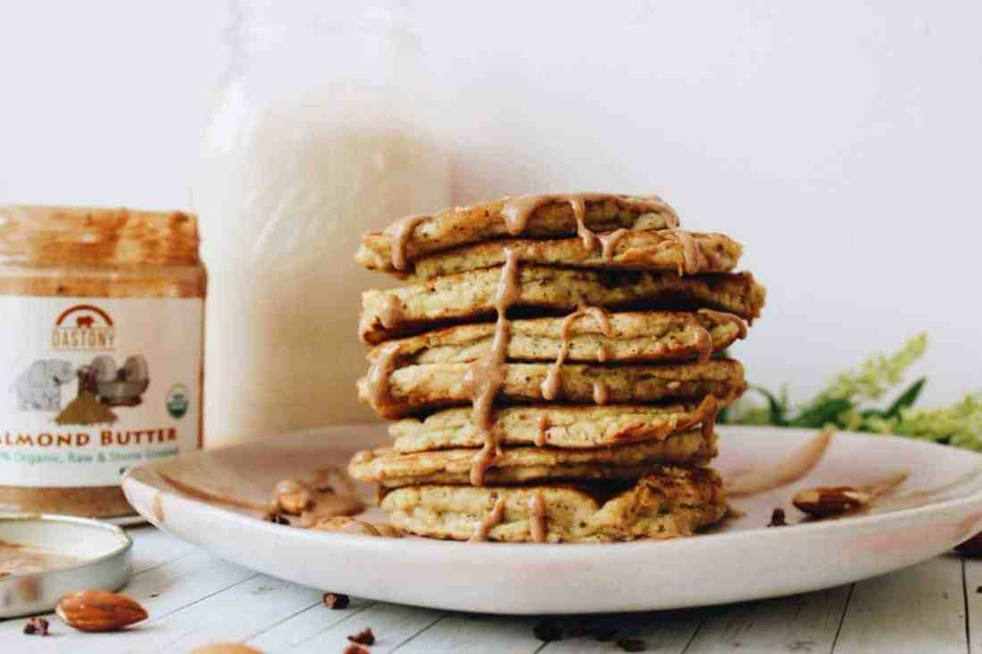 These candida friendly coconut flour pancakes follow strict candida diet guidelines & make for the perfect gluten free, candida diet breakfast alternative!