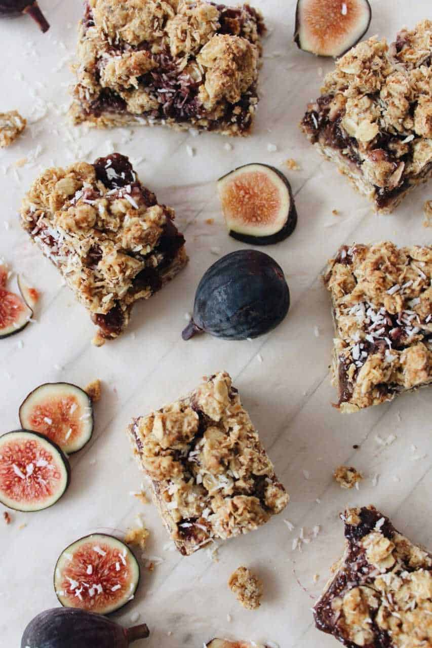 Fig Coconut Crumble With Collagen Peptides - Gluten & Dairy Free