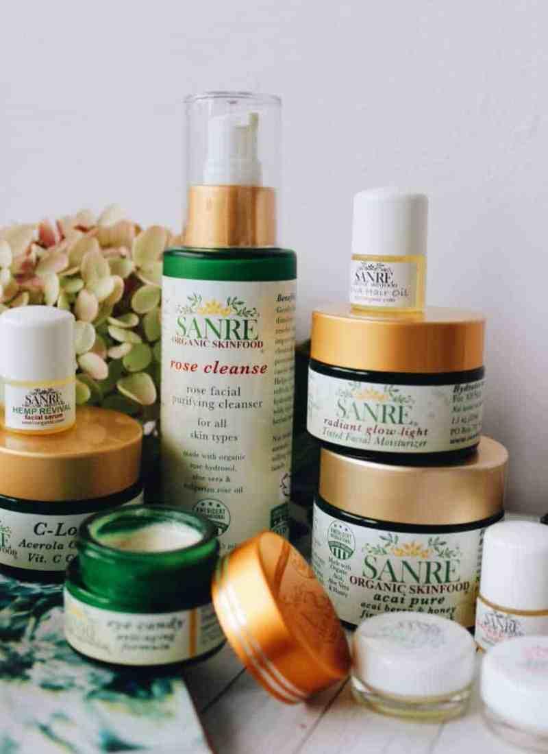 SanRe Organic Skinfood All-Natural Skincare Review