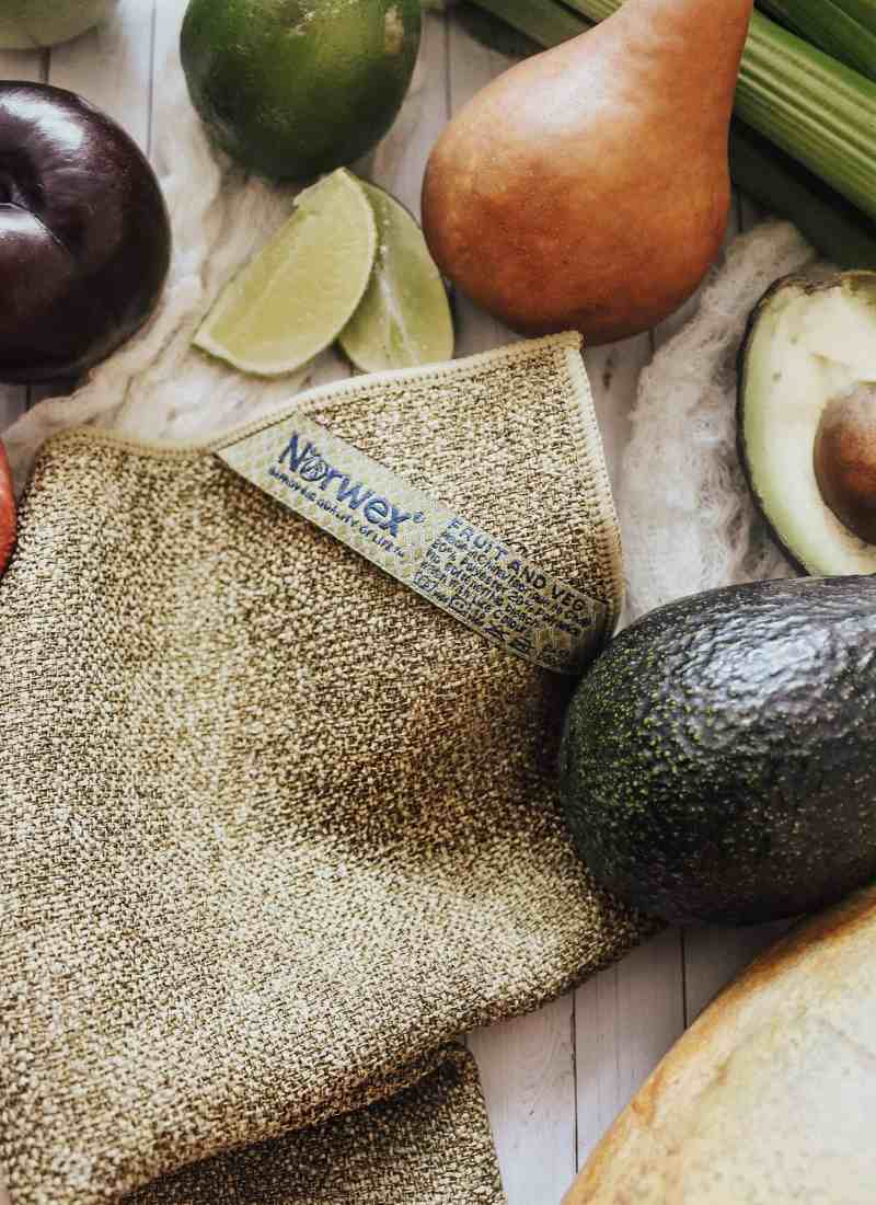 Why You Should Be Using The Norwex Veggie Cloth to Clean Your Produce