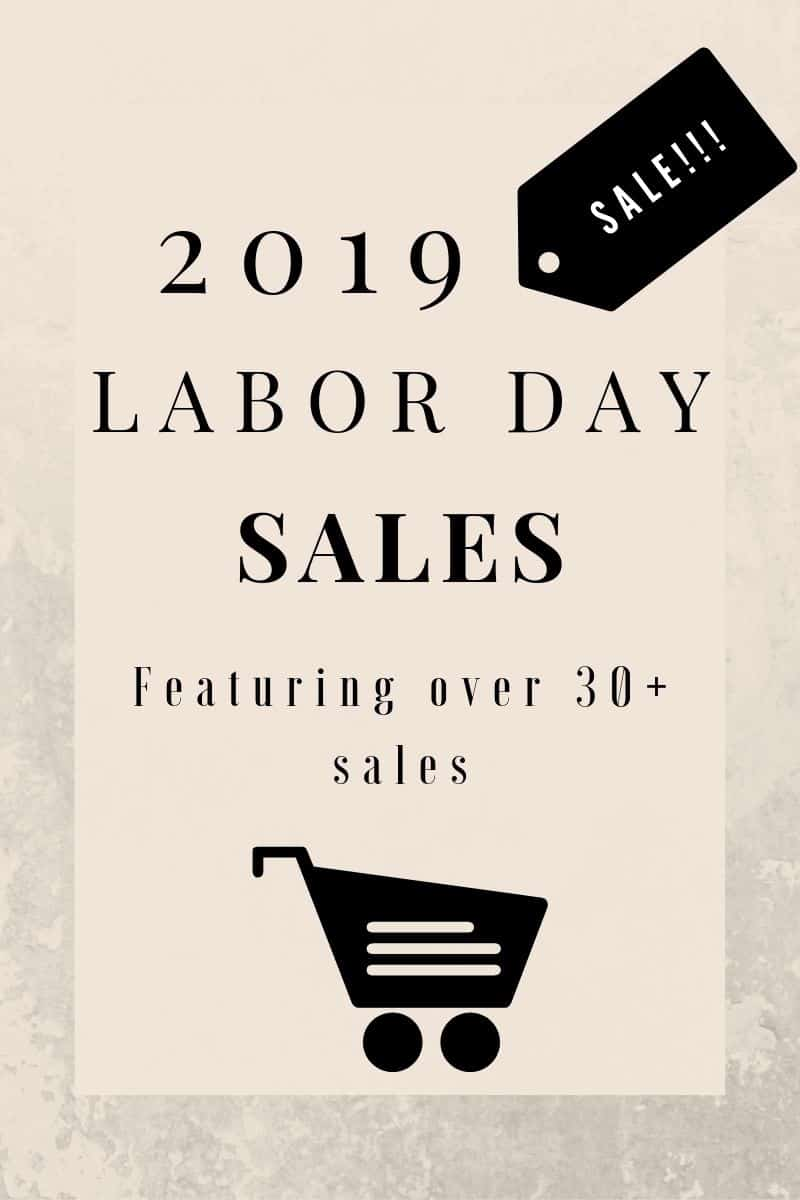 Sharing over 30 amazing 2019 Labor Day Sales for women to shop this weekend! Score big savings on clean beauty, fall fashion finds, summer steals, & more!