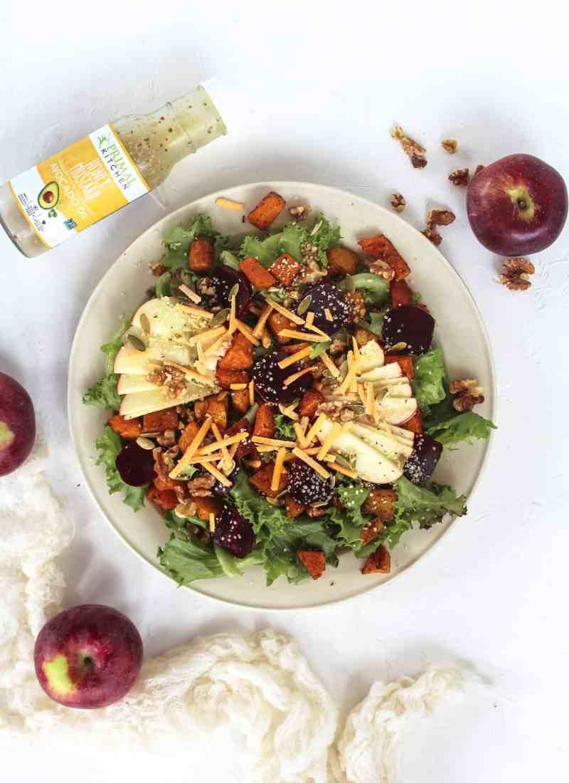 Butternut & Apple Fall Harvest Salad – GF & Vegan
