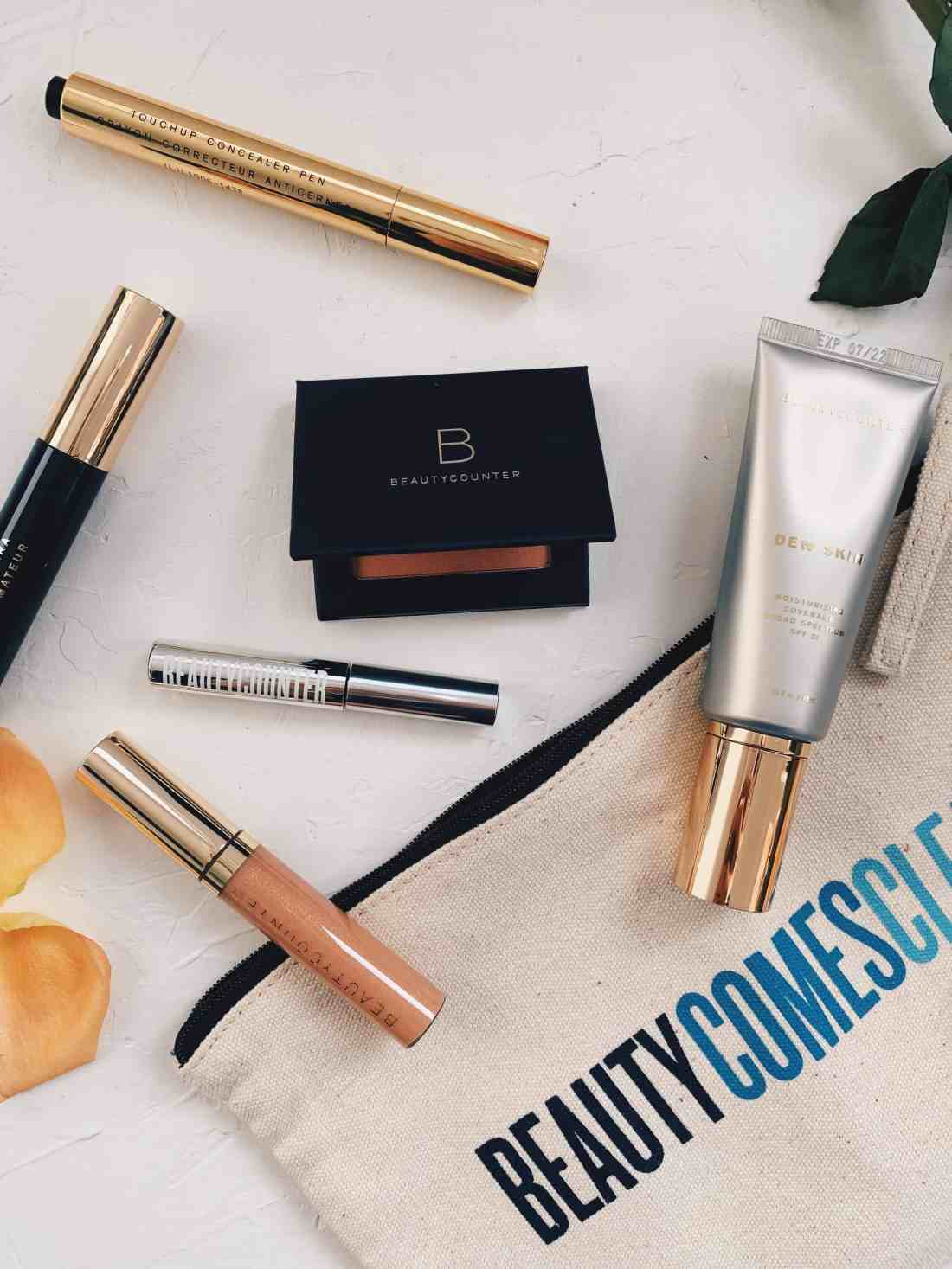Reviewing Beautycounter's Flawless in Five Makeup Set...a five minute makeup routine, with 6 high performing, customizable, clean products!