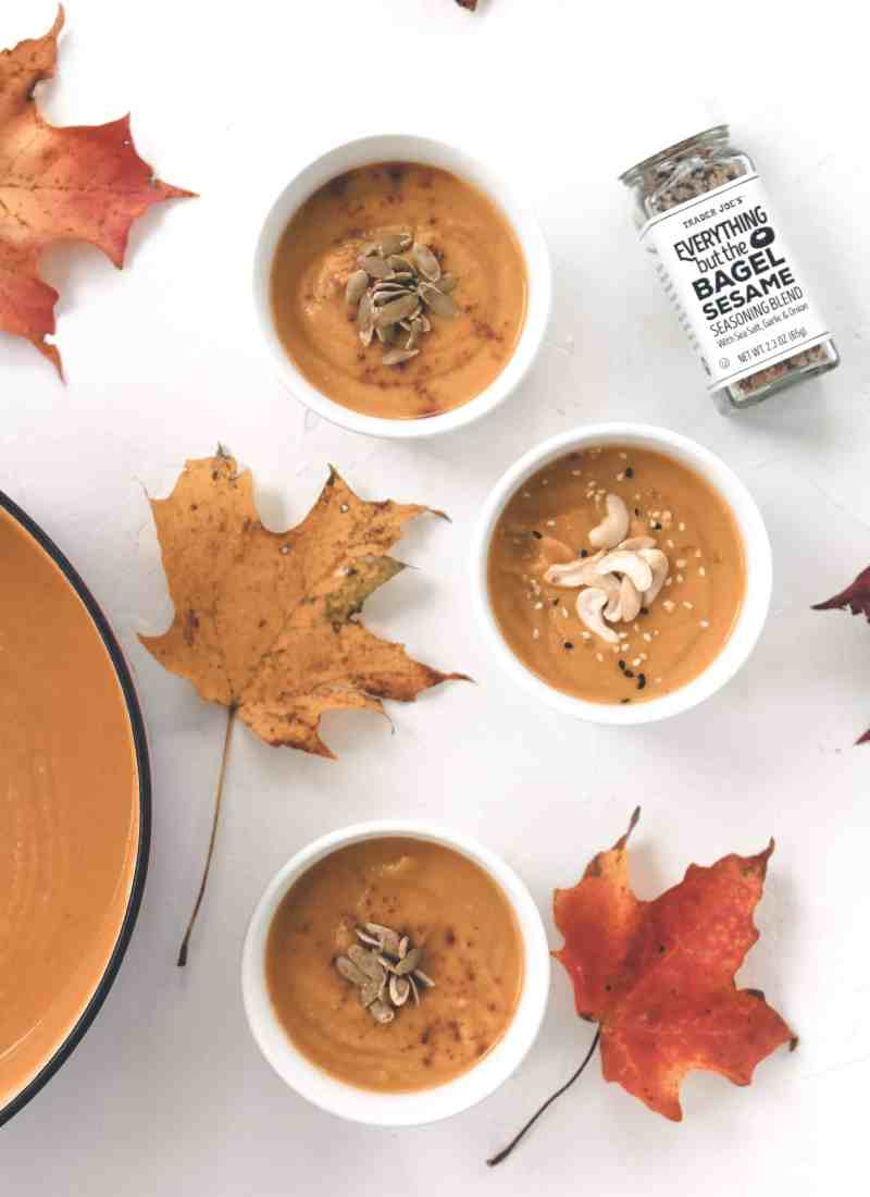 Butternut & Delicata Squash Soup – GF & Vegan