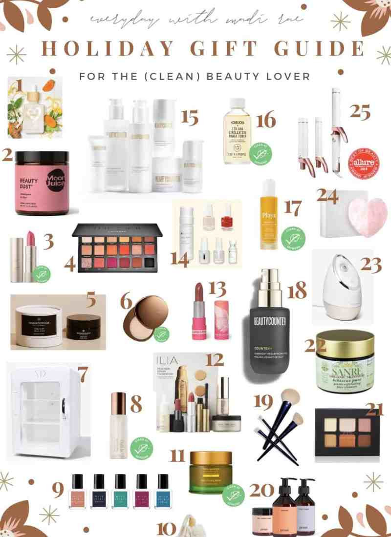 2019 Holiday Gift Guide for the Clean Beauty Lover In Your Life