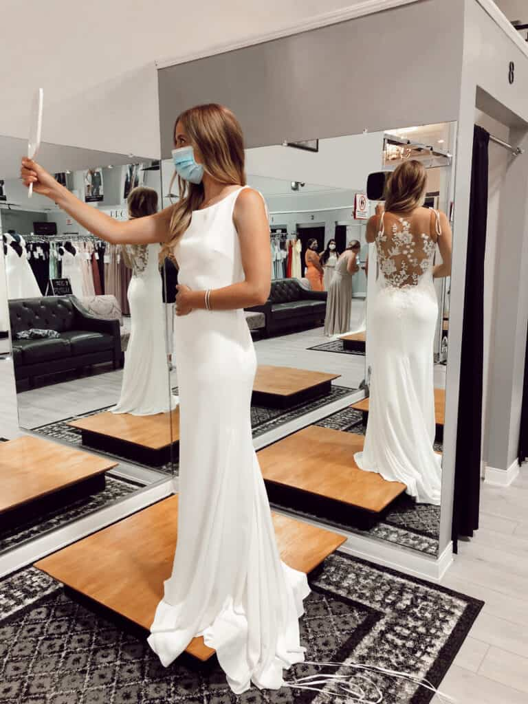 Sharing my favorite wedding dress photos as well as, the gowns I tried on at Modern Bride & Formal Shop in Bedford, NH that I didn't choose!