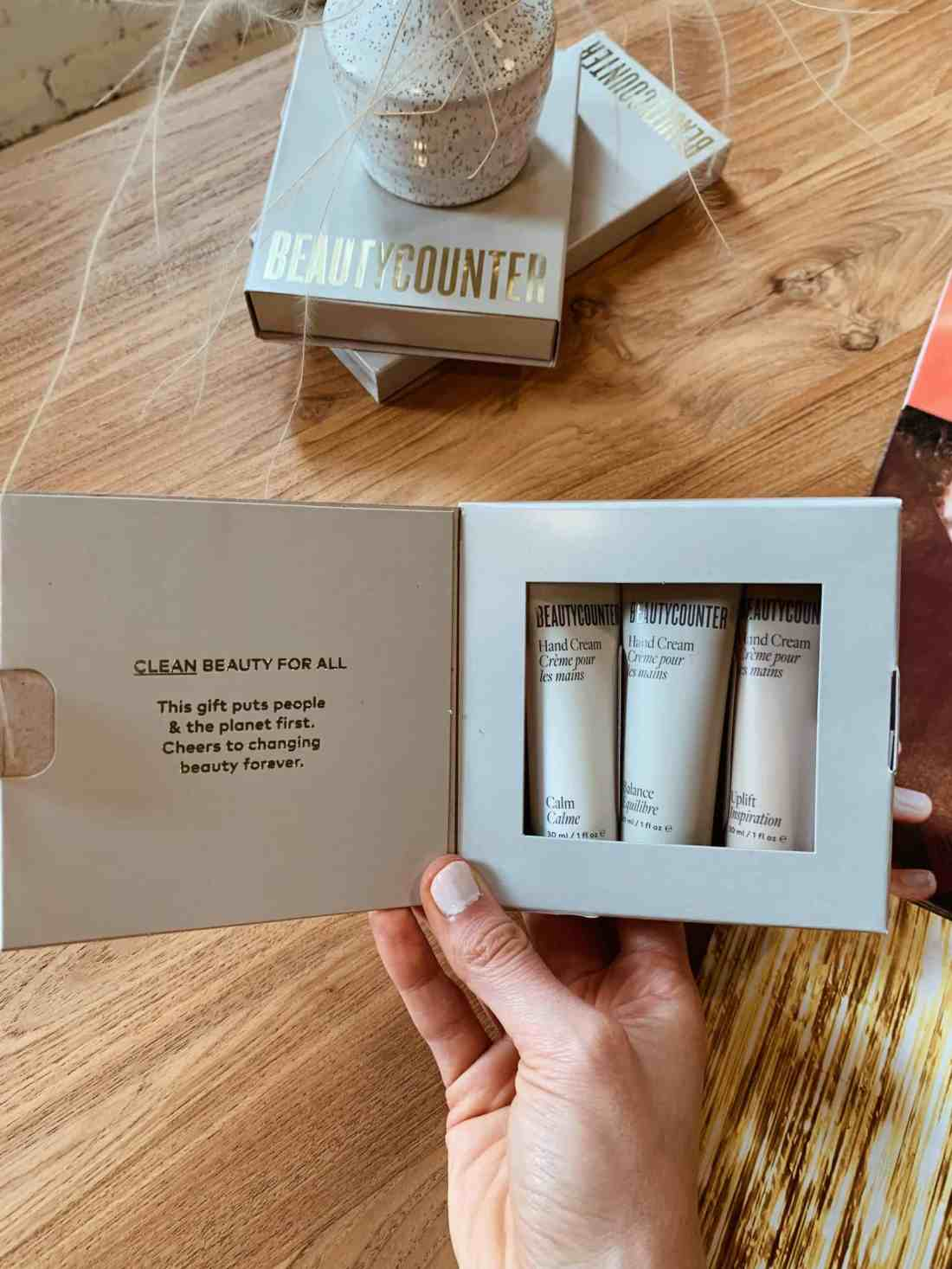 2021 Beautycounter Holiday Collection Review: Good Scents Hand Trio
