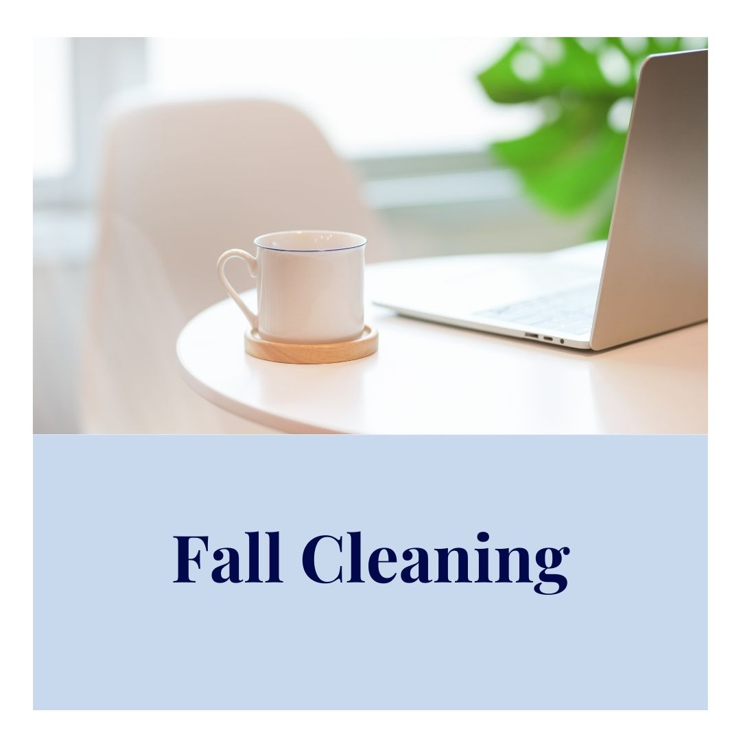 Fall Cleaning