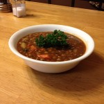 Lentil Soup Served