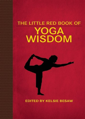 The Little Red Book of Yoga Wisdom Book Cover