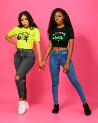 Celebrities Rush Mercy's New 'Wanna Relass' Brand 2