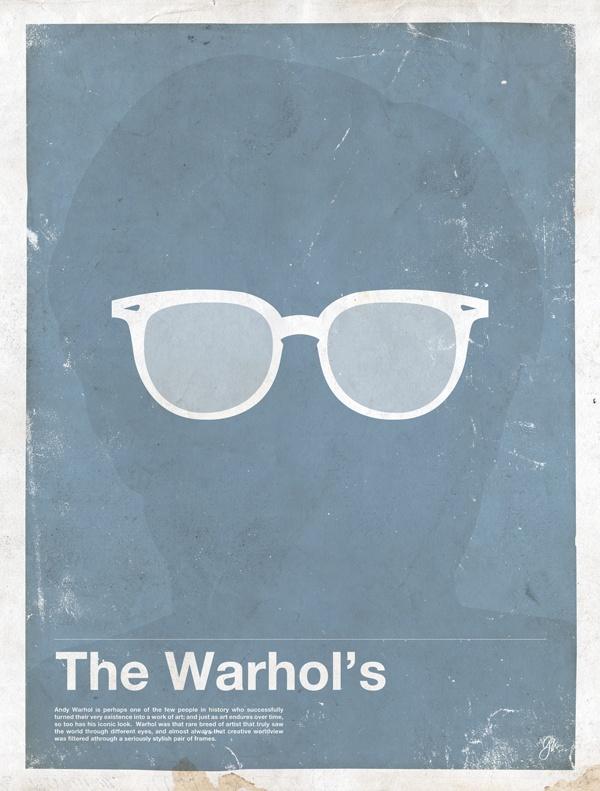 framework andy Framework   Eyewear Made Famous Posters