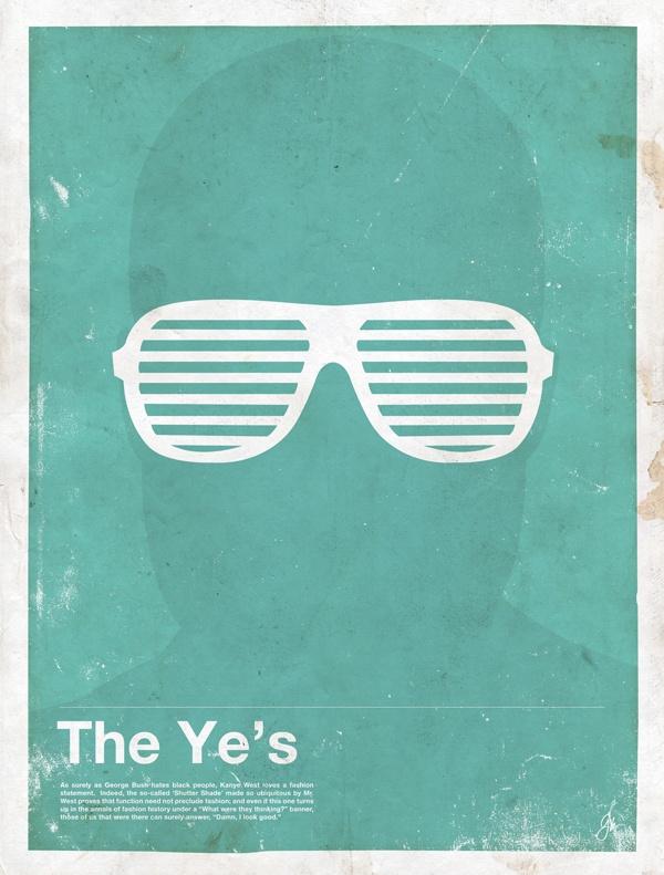 framework kanye Framework   Eyewear Made Famous Posters