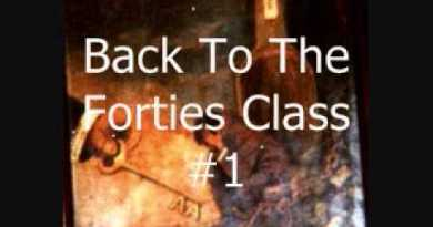 Alcoholics Anonymous - Back To The Forties Class #1
