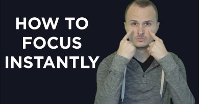How To Be More Determined & Focused Instantly