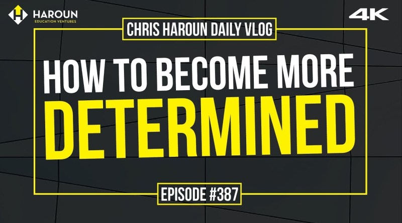 【4K】How to Become More Determined