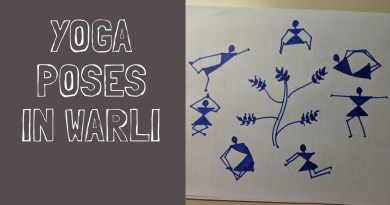 Warli Tutorial #23 || Yoga Poses in Warli || Warli Painting with Little Learners Corner