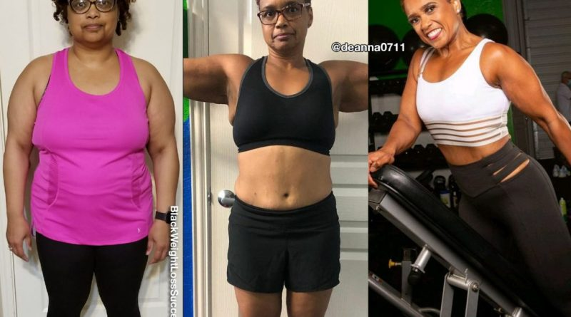 Dean'na lost 75 pounds | Black Weight Loss Success
