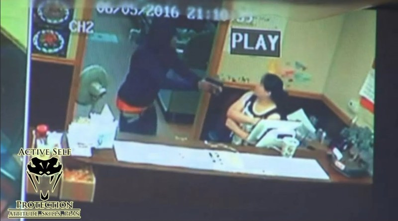 Determined Restaurant Owners Fight Off Armed Robber