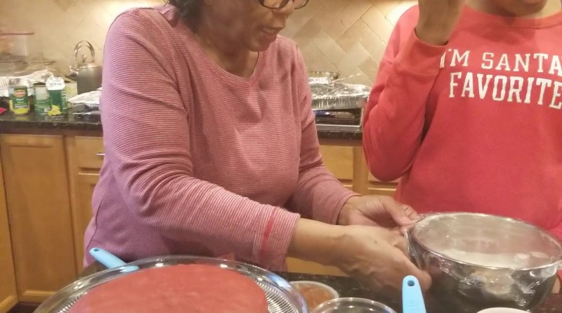 Patricia Lee teaches her granddaughter Taylor