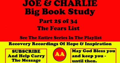 AA Speakers Joe McQ. and Charlie P. - Their Famous Alcoholics Anonymous Big Book Study #25 of 34