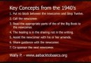 Alcoholics Anonymous - Key Concepts from the 1940's