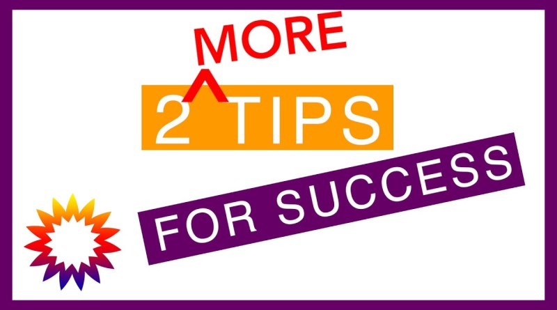 More Tips for Success | Self-Determination | WI Board for People with Developmental Disabilities