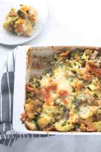 Chicken Broccoli Pasta Bake