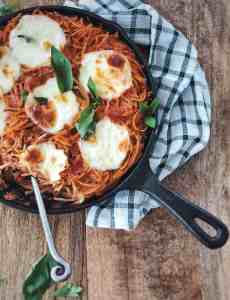 Easy, Healthy baked pasta with the perfect tomato sauce. Vegetarian1