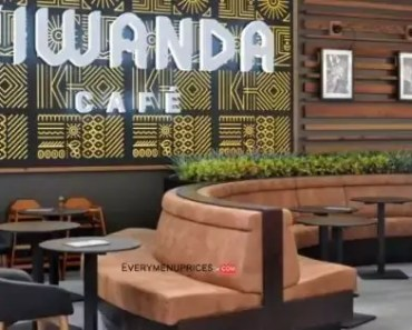 Kiwanda Café Menu Prices [2021 Updated]