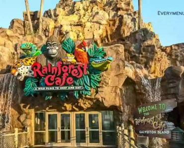 Menu Prices of Rainforest Cafe [2021 Updated]