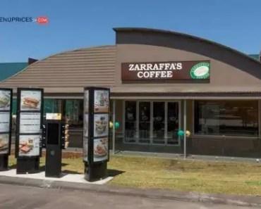 Zarraffa's Coffee Menu Prices [2021 Updated]