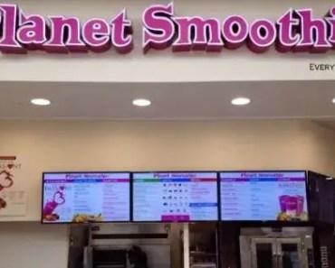 Planet Smoothie Menu Prices [2021 Updated]