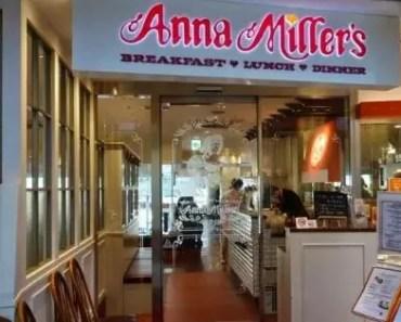 Anna MillersMenu And Prices [2021 Updated]