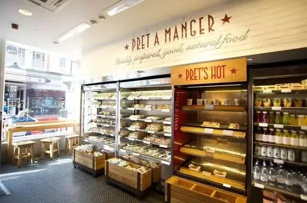 Pret A Manger UK Menu Prices everymenuprices.com