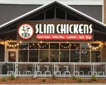 Slim Chicken Menu With Prices [2021 Updated]