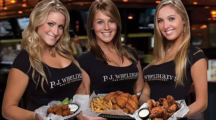 PJ Whelihan's Wing Prices everymenuprices.com