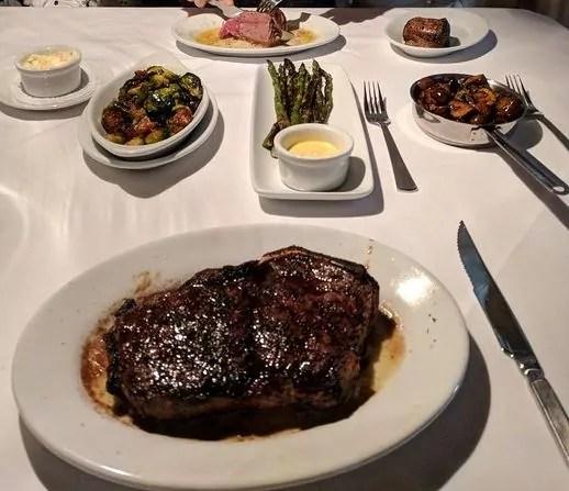 Ruth Chris Steakhouse Menu everymenuprices.com