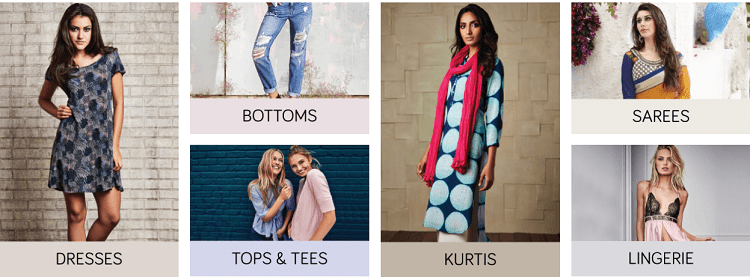 Tata Cliq Offer : Get upto 55% off on Women's Clothing
