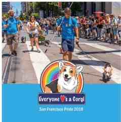 Everyone Loves a Corgi SF Pride Event guide