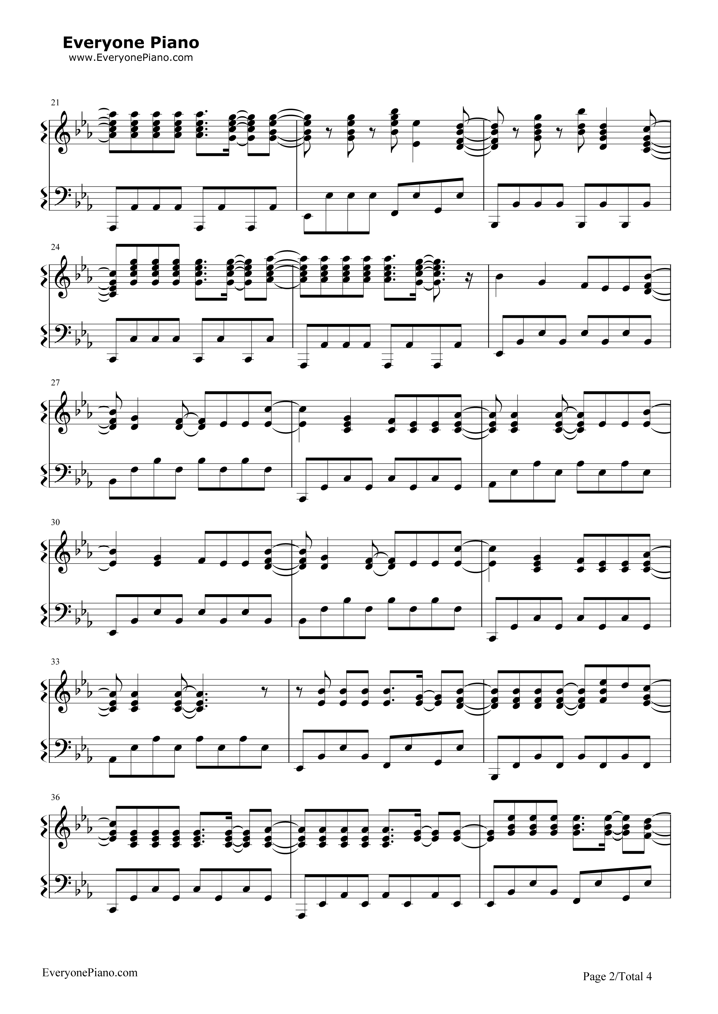 Perfect Piano Chords For Demons By Imagine Dragons Ensign Song